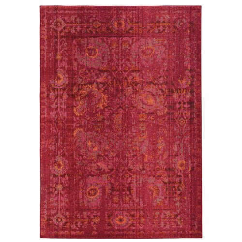 Pantone Universe Expressions Red Oriental Area Rug