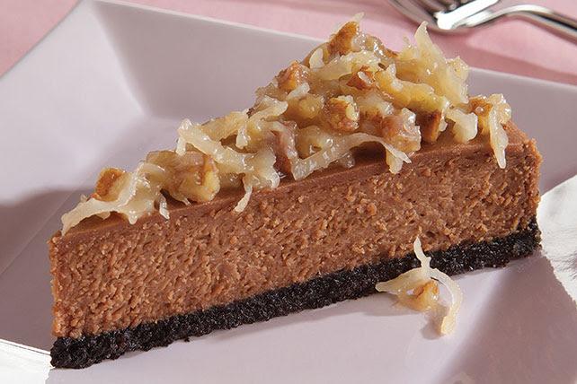BAKER'S GERMAN'S Chocolate Cheesecake - Kraft Recipes