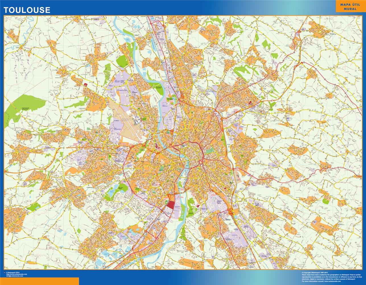 Carte Toulouse Ou Le Plan Carte Toulouse