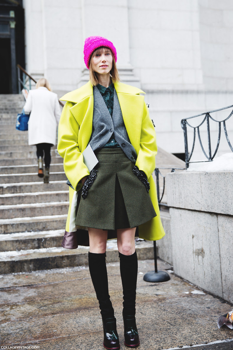 Street Style New York Fashion Week Fall Winter 2014 2015 The Wonderful World Of Fashion