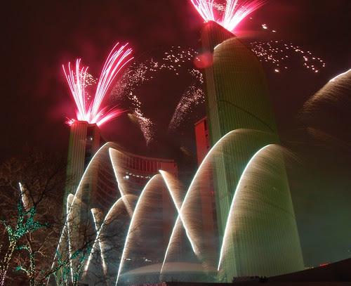 Fireworks at Cavalcade of Lights 4