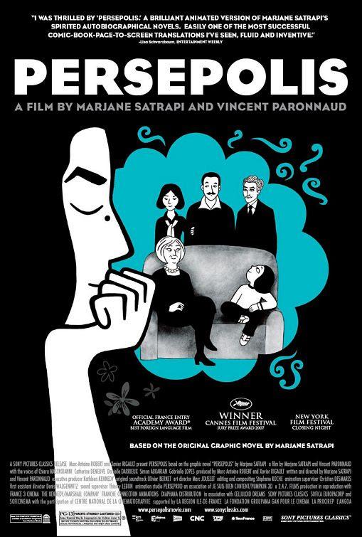 Risultati immagini per persepolis movie poster