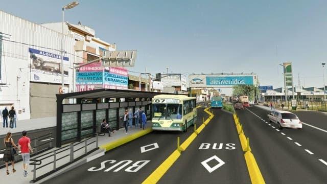 Resultado de imagen para Metrobus de Tres de Febrero,