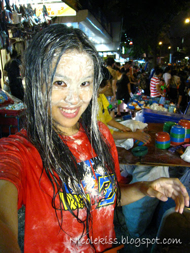 me at songkran festival
