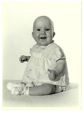 me as a baby, less that a year old.