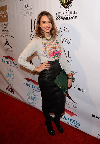 Jessica Alba - EXPERIENCE: East Meets West Event