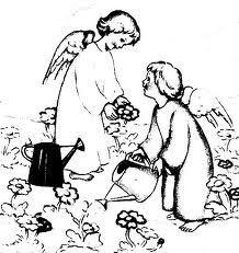 BELLE IMMAGINI DA COLORARE DI ANGELI