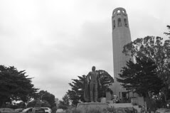 Coit Tower - Tower and Statue