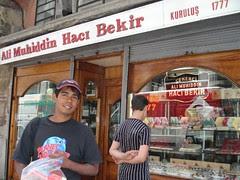 Kedai Turkish Delight, Istanbul, Turkey