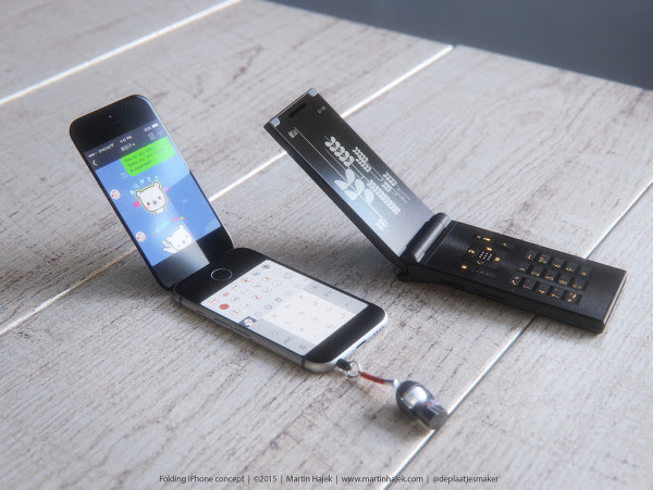 If Apple Made A Flip Phone iPhone, This Is What It Would ...