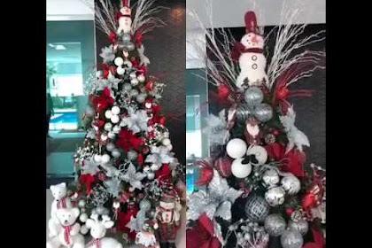 Foto Pohon Natal Unik