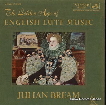 BREAM, JULIAN golden age of english lute music, the
