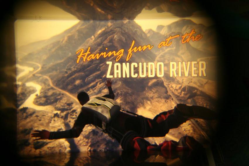GTA V, cenário Zancudo River - imagem retirada do site www.allgamesbeta.com