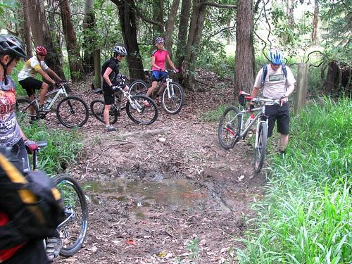Yuck! Mud!