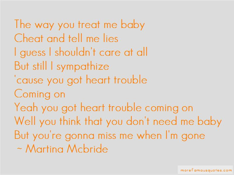 Awesome Miss Me When Im Gone Quotes Soaknowledge