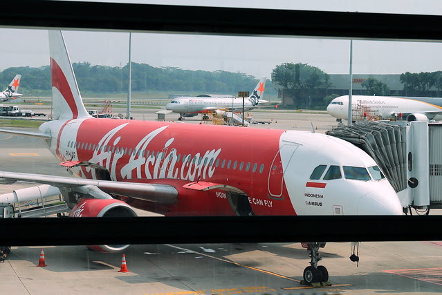 My first flight with AirAsia