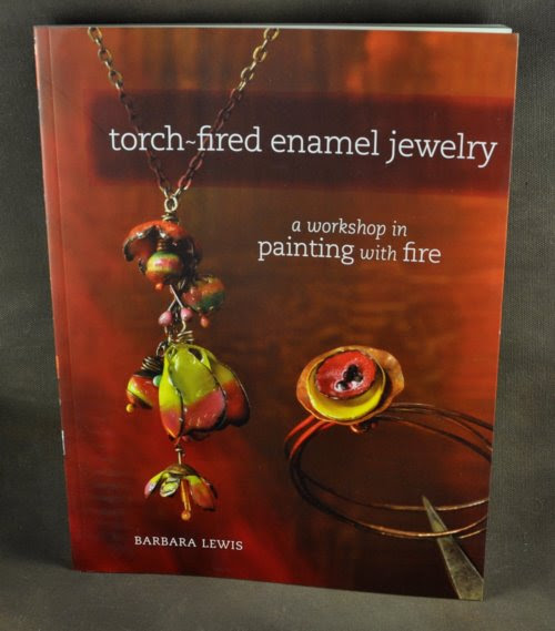 s32655 Books -  Torch-Fired Enamel Jewelry - by Barbara Lewis