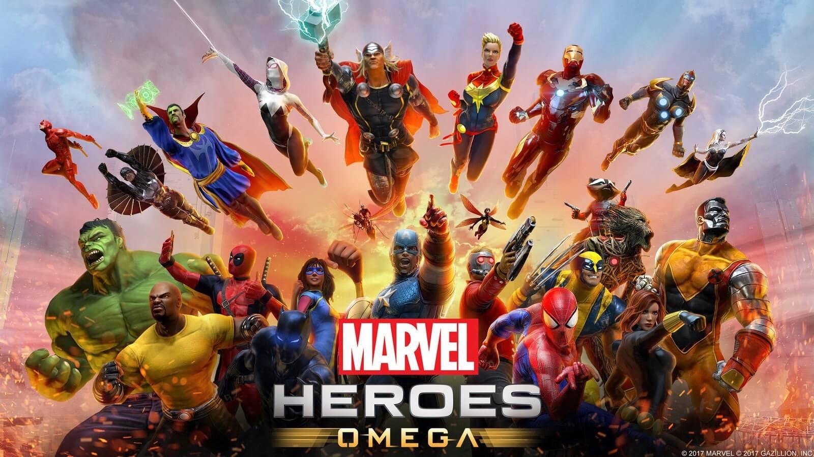 Resultado de imagem para Marvel Heroes Omega