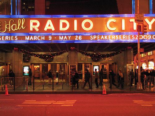 Radio City, NYC