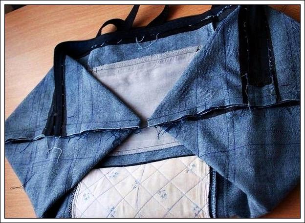 Как сшить сумку своими руками из старых джинсов (пошаговый фотоотчет)