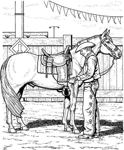 cowboy horse coloring pages  getcoloringscom