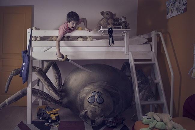 Τα παιδιά μας δείχνουν πώς να αντιμετωπίζουμε τις φοβίες μας