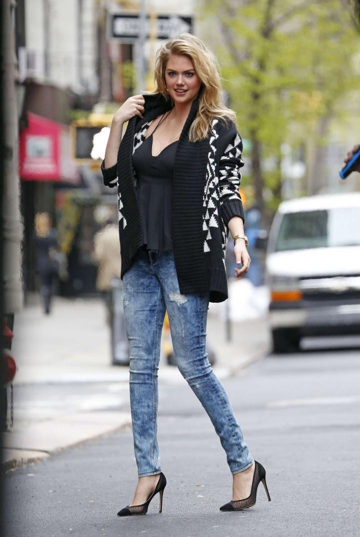 Kate Upton Street Photoshoot in NYC -15