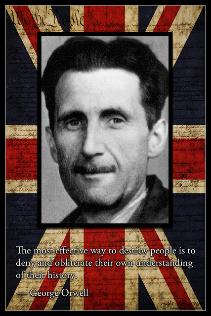 George Orwell 2 SC The Left's Orwellian Censorship Campaign