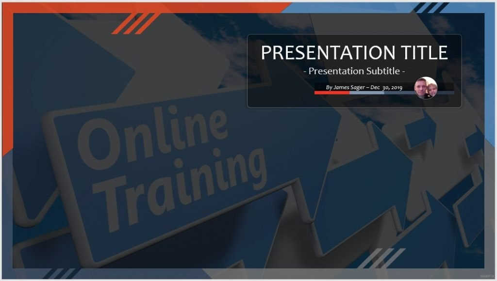 Online Training Powerpoint Template 102411