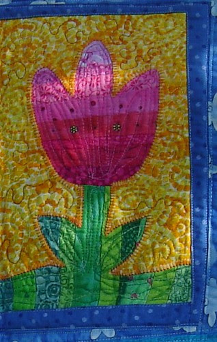 Spring Quilt from Helen detail