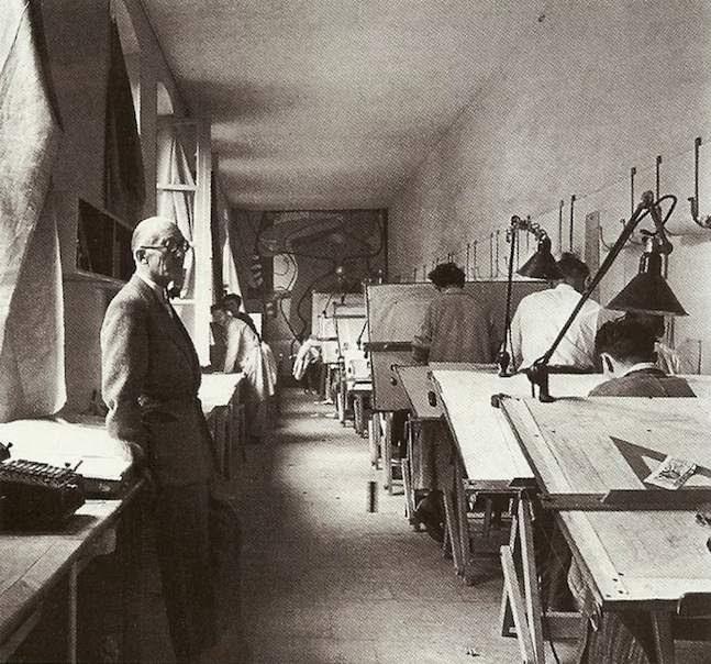 Estudio de Le Corbusier