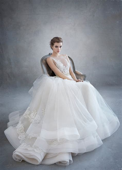 Bridal Gowns, Wedding Dresses by Lazaro   Style LZ3607