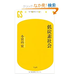 低炭素社会 (幻冬舎新書)