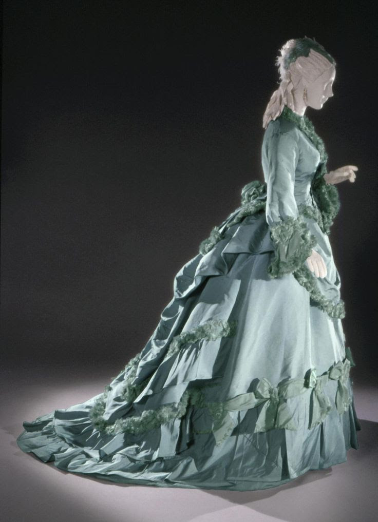 Woman's Dress: Day Bodice, Evening Bodice, and Skirt Designed by Charles Frederick Worth