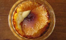 Simon Hopkinson and Lindsey Bareham recipe creme brulee