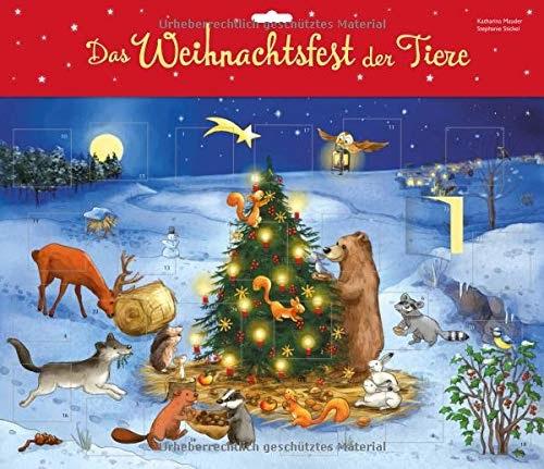 (PDF) Das Weihnachtsfest der Tiere. Türchen