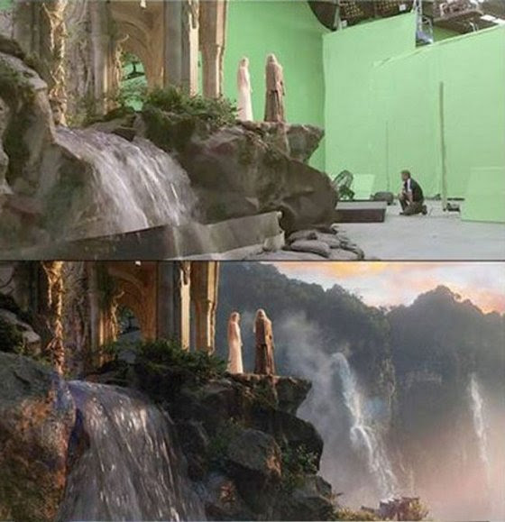 Movies before and after computer visual graphics 8
