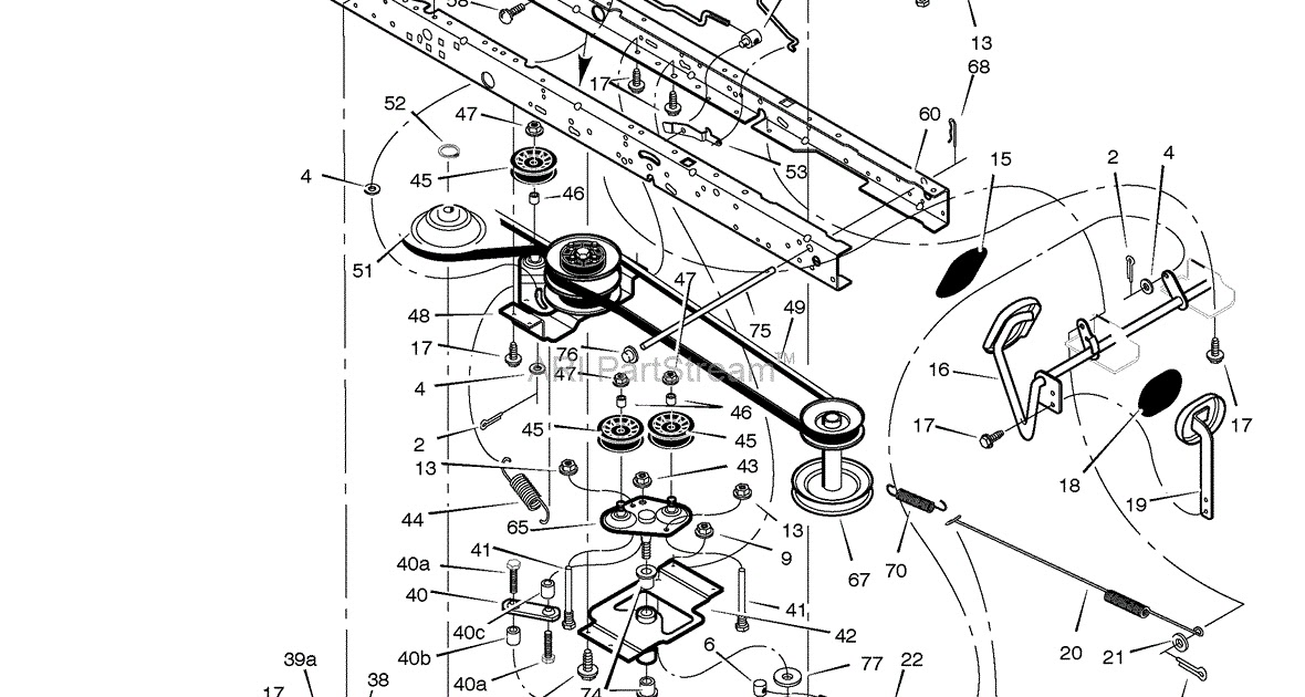 30 Murray Lawn Mower Transmission Diagram