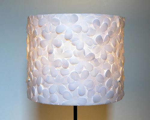 Punched Flower Lampshade