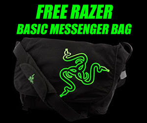 Free Razer Basic Messenger Bag