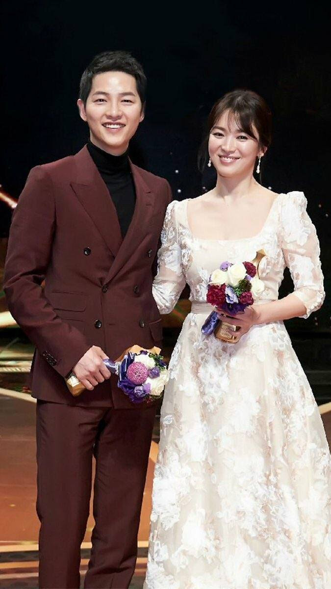 Foto Foto Kebersamaan Song Joong Ki Dan Song Hye Kyo Ini Kelewat