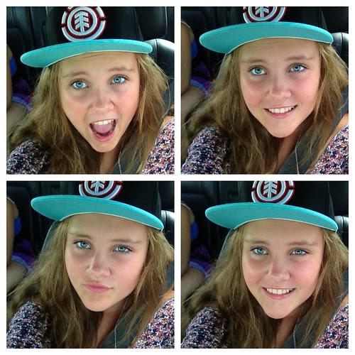 Jess in cap.