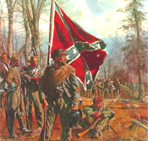 http://johndenugent.com/images/southern-confederate-soldier-bearing-dixie-flag-gazes.jpg