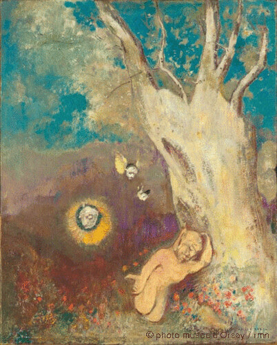 Sommeil de Caliban, Odilon Redon, 1895-1900