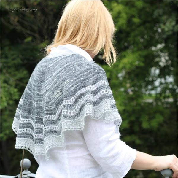 "shawl ""Sea Wave"""