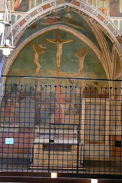 File:Roma San Clemente Capella Santa Caterina1.JPG