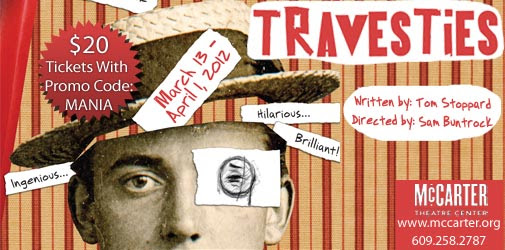 McCarter Theatre presents TRAVESTIES, directed by Sam Buntrock
