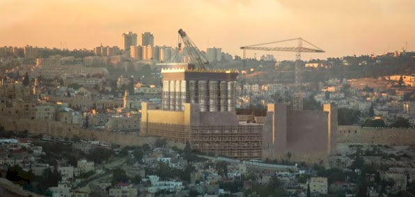 The future Third Temple ... as it would appear