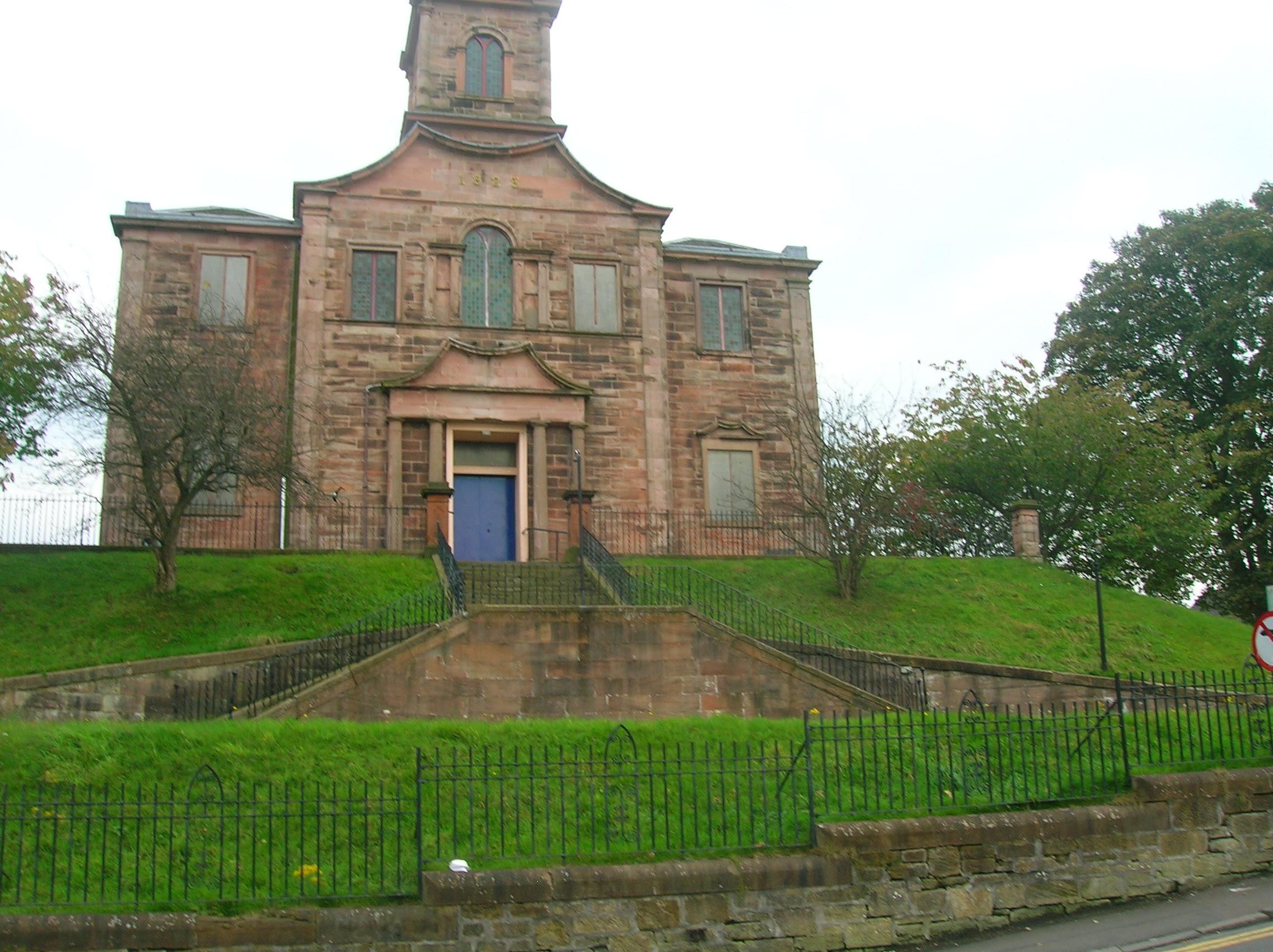 Colina del juicio en Riccarton (Escocia)