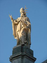 Chiesa di San Silvestro - San Silvestro statue.jpg